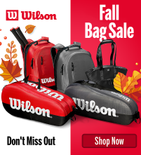 SALE: Wilson Tennis Bags Clearance Prices