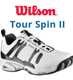 Wilson Tour Spin II Tennis Shoes