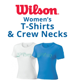Wilson Women's T-Shirts & Crew Necks