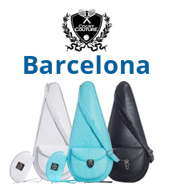 Court Couture Barcelona Tennis Bag Slings