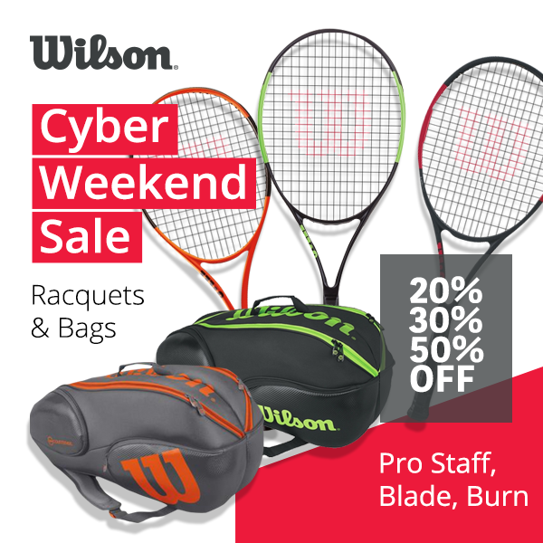 Black Friday Rackets. Hundreds models in offer only until November 26th.