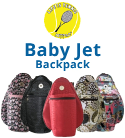 Jet Baby Tennis Backpack