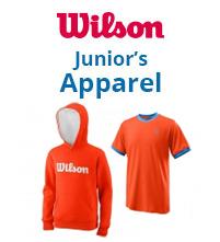 Wilson Junior Tennis Apparel Boys Girls