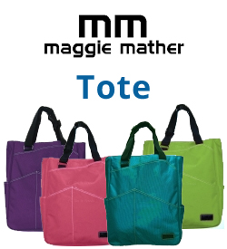 Maggie Mather Tennis Totes