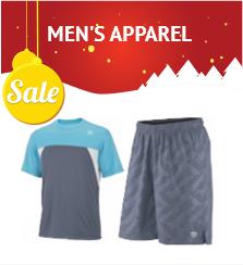 Discount Men's Tennis Apparel
