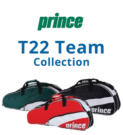 Prince T22 Team Collection Tennis Bags