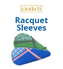 CindaB Tennis Racquet Sleeves