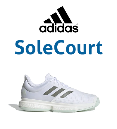 Adidas SoleCourt Tennis Shoes for Men, Women, Juniors