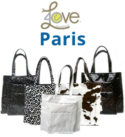 40 Love Courture Paris Sack Tennis Bags