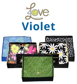 40 Love Courture Violet Tennis Bags