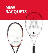 Red, White & Blue Tennis Racquets
