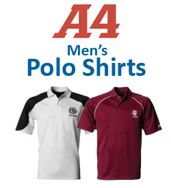 A4 Men's Polo Shirts