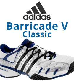 Adidas Barricade V Classic Tennis Shoes