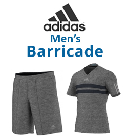 Adidas Men's Barricade Apparel