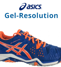 Asics Gel-Resolution Tennis Shoes