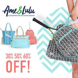 Ame & Lulu Tennis Bags Black Friday Cyber Monday Sale