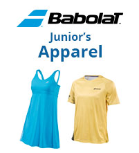 New Babolat Performance Apparel for Junior Boys & Girls