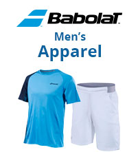 New Babolat Performance Men's Tennis Apparel