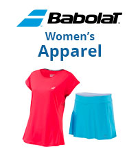 New Babolat Performance Women's Tennis Apparel