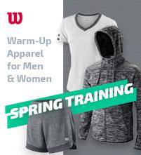 Wilson Spring Training Warm-Up Tennis Apparel