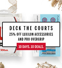 Wilson Luxilon Racquet Grip Dampener December Deals