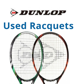 Dunlop Used Tennis Racquets