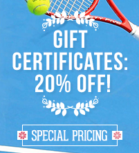 Gift Certificates: 20% off!