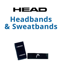 HEAD Headbands & Writsbands Tennis Apparel