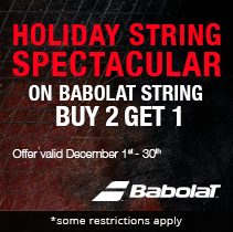 Babolat December Holiday Spectacular- Buy Any 2 Sets, Get 1 Free