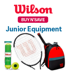 Wilson Black Friday Cyber Monday Junior Tennis Equipment