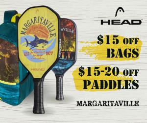 Head Margaritaville Pickleball Paddles Bag Holiday Sale