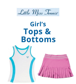 Little Miss Tennis Tops and Bottoms