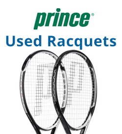 Prince Used Tennis Racquets