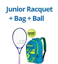 Racquet + Bag + Ball