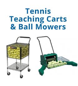 Tennis Teaching Carts & Ball Mowers