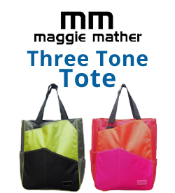 Maggie Mather Three Tone Tennis Bags
