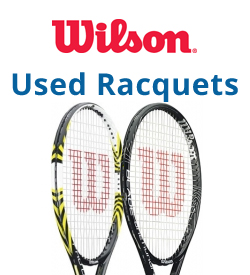 Wilson Used Tennis Racquets