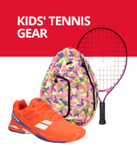 Red, White & Blue Junior Tennis Equipment