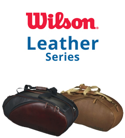 Wilson Leather Series Tennis Bags