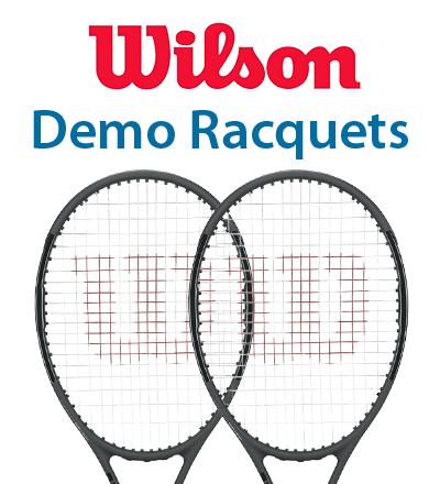 Wilson Demo Racquets