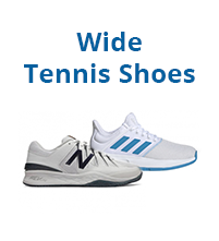 Wide Tennis Shoes