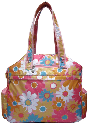 Jet Daisy Grace Tennis Tote Bag