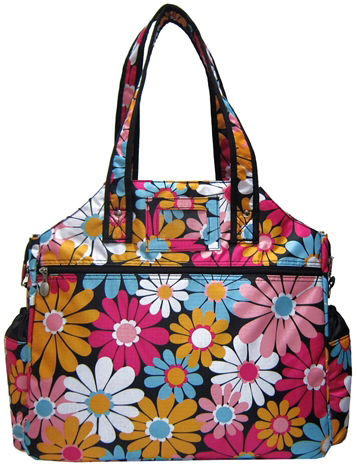 Jet Daisy Mae Tennis Tote Bag