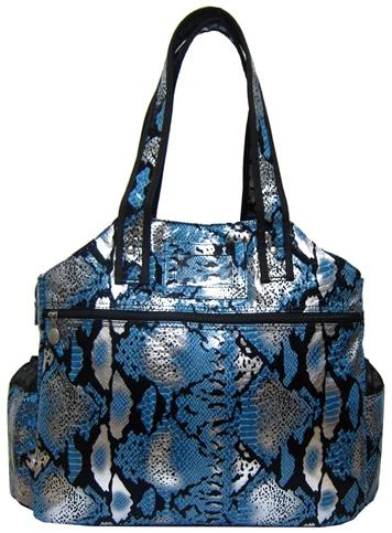 Jet Blue Dynamite Tennis Tote Bag