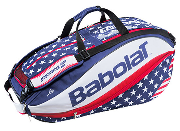 Babolat Pure Aero Stars Amp Stripes 12 Pack Tennis Bag From