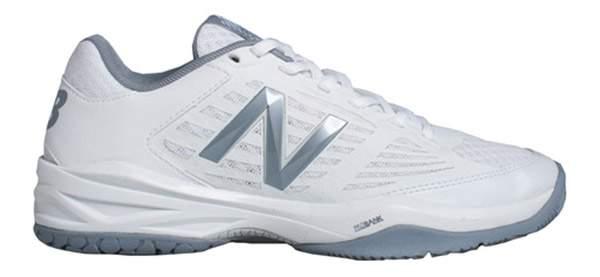 New Balance Women's WC896WB1 (B) Tennis Shoes (White/Silver)