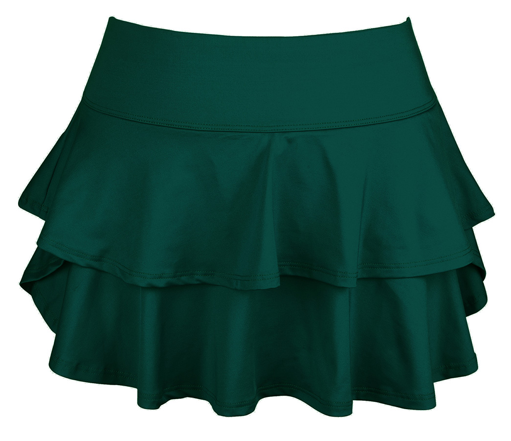 DUC Belle Women's Tennis Skirt (Pine Green)
