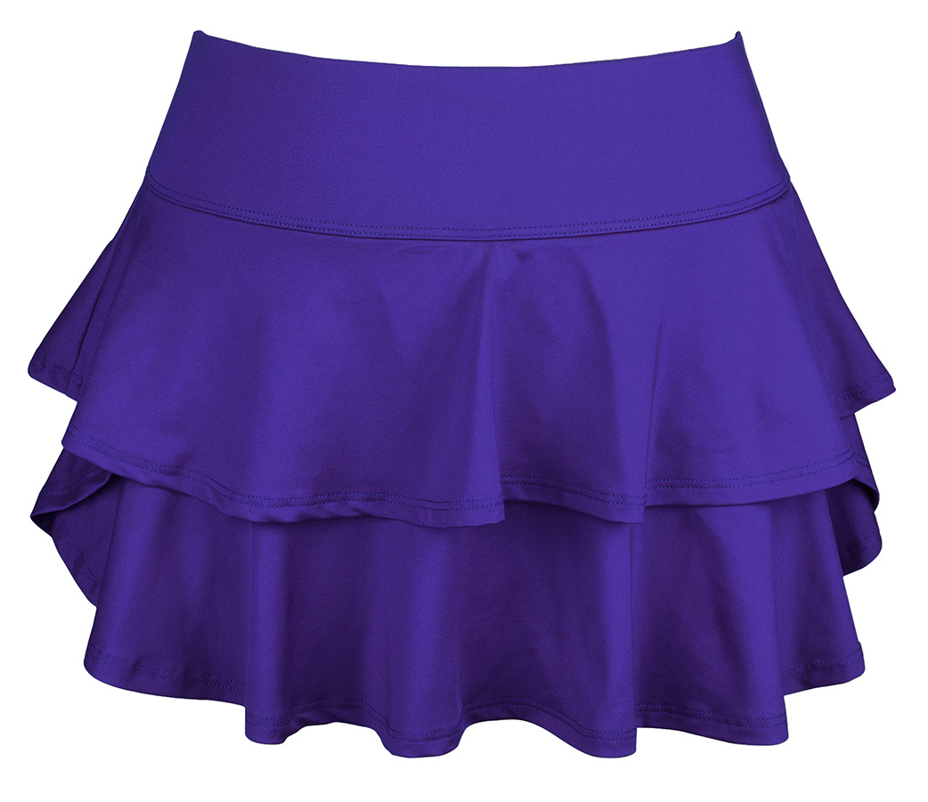 DUC Belle Women's Tennis Skirt (Purple)