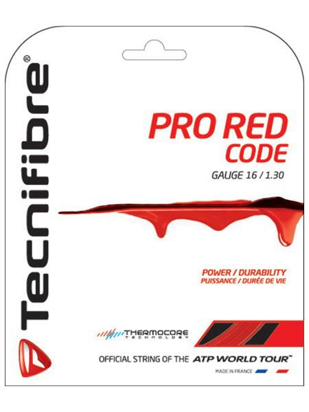 Tecnifibre Pro Red Code 16g Tennis String (Set)