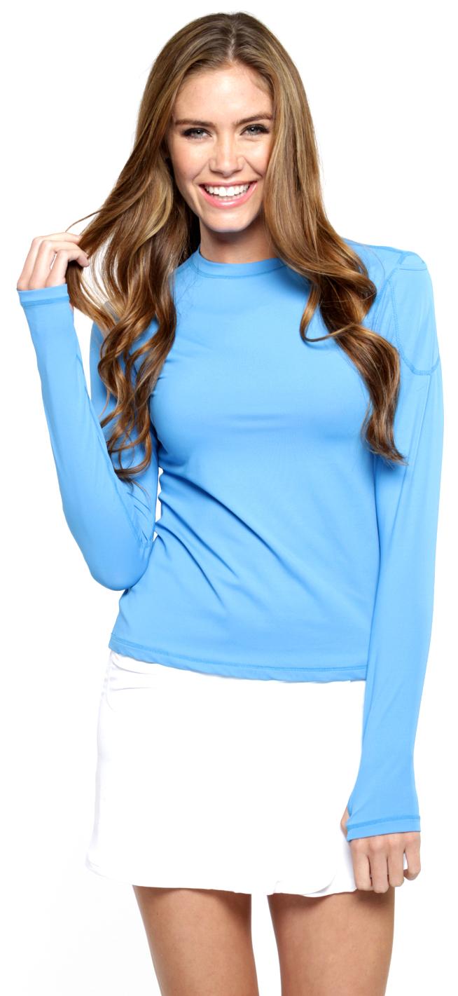 Bloq-UV 24/7 Long Sleeve Top (Ocean Blue)